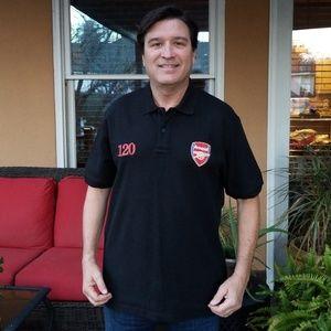 Other - Arsenal Football Club Black Golf Shirt Size XL
